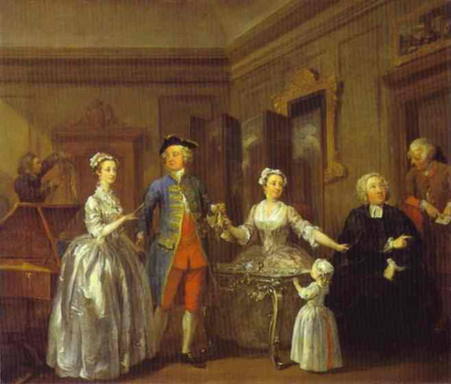 The Western Family by William Hogarth - Reproduced by kind Permission of the National Gallery of Ireland